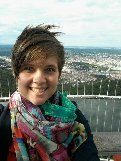 Heim- und Fernweh zugleich: Lilian Todter in Tiflis