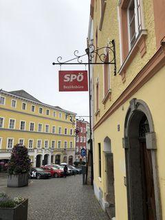 Das Bezirksbüro der SPÖ am Unteren Stadtplatz könnte erhalten bleiben oder auch nicht.