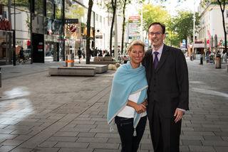 Im innerstädtischen Bereich werden die Rufe nach erdigem Gemüse und Bio-Obst immer lauter. Auch Christina Schlosser und Gerhard Hammerer von der ÖVP fordern einen neuen Bauernmarkt.