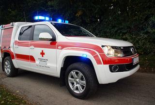 Die Fußgängerin erlitt bei dem Unfall Verletzungen unbestimmten Grades und wurde in das Klinikum Wels-Grieskirchen gebracht.