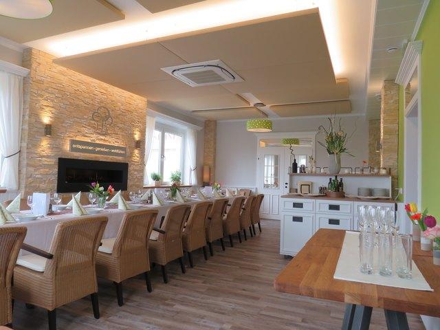 Runderneuertes Speisezimmer: Kulinarik, Raum und Einrichtung fügen sich im Gasthaus Fandl bestens ineinander.