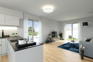 """So wohnen Sie """"State of the art"""": In Hohenruppersdorf erwarten Sie perfekt geplante Wohnungen bis 70m². Einfach einziehen und wohlfühlen."""