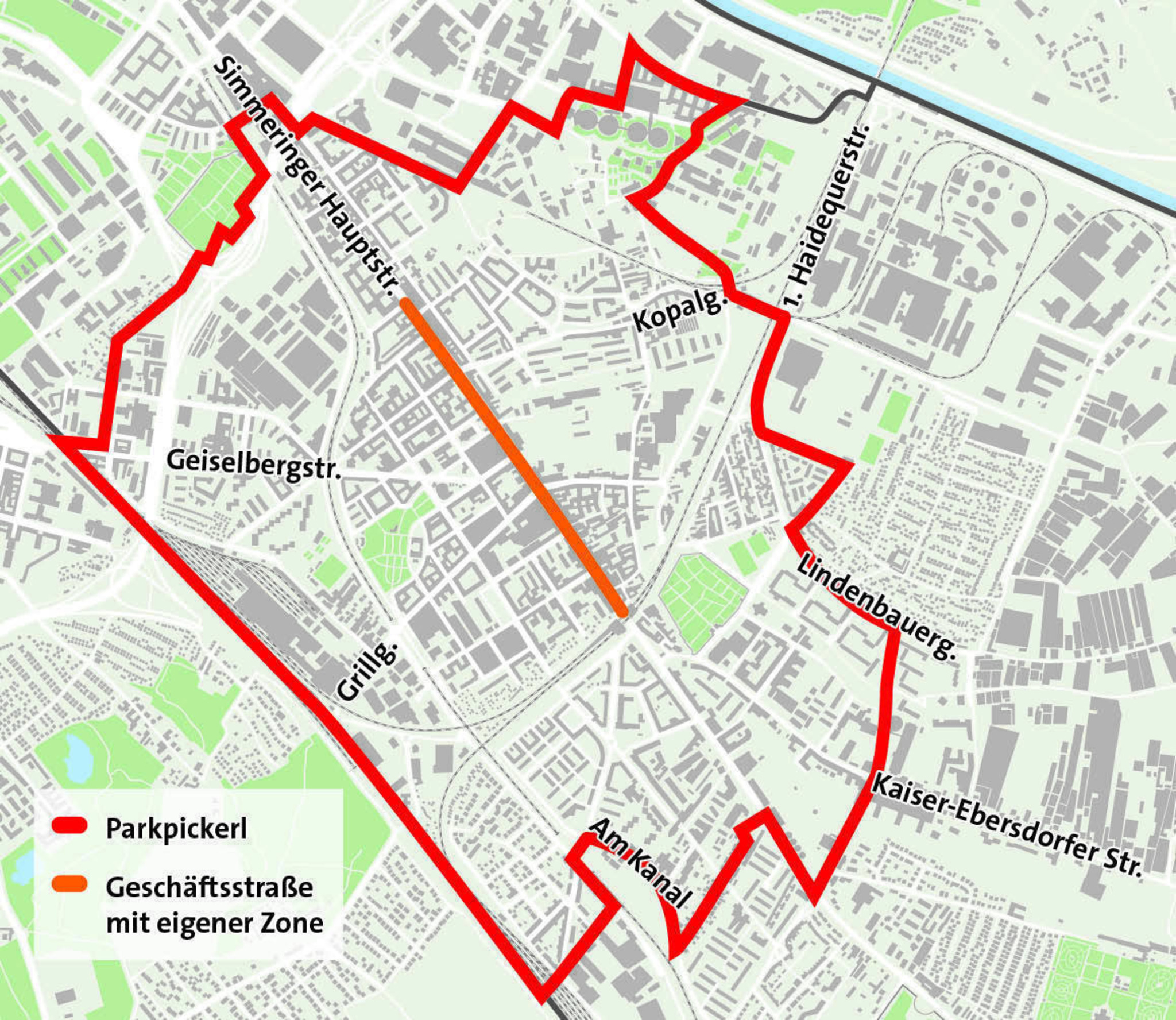 Wien Simmering Parkpickerl Startet Am 5 November Simmering