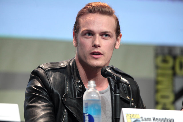 Sam Heughan macht Party in London