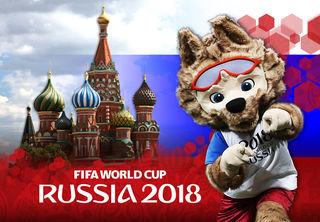 Die Fußball-WM startet am 14. Juni. Foto: GEPA pictures/ Sputnik/ Alexey Filippov; Montage: Lisa Payr