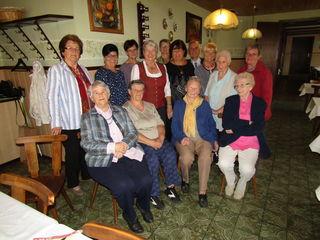 Mütter und Witfrauen aus dem Ortsverband Altlengbach kamen zu einer kleinen, nachmittäglichen Feier ins Gasthaus Koberger.