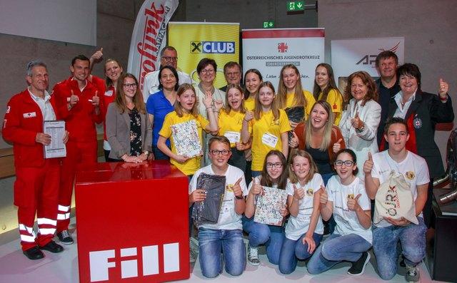 Die Sieger: NMS Mauthausen und NMS Pabneukirchen