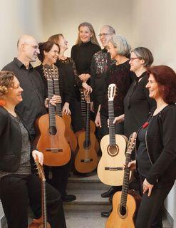 Die Liebe zur Gitarre verbindet die Mitglieder.