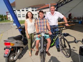 Monika Ulreich, David Venus und Ewald Schnecker.