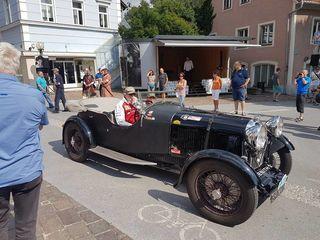Edle Karossen am Pfingstsonntag in Köflach. Die Murtal Classic präsentiert 230 Oldtimer.