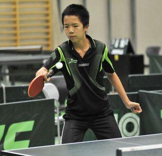 Einmal mehr erfolgreich: Eric Tang (TTK Naturfreunde Stadlau) verhilft der Wiener Auswahl zu Platz 3