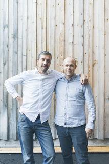 Martin Jehart und Christoph Egger die Gründer von Organoid Technologies