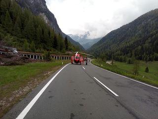 Der Rettungshubschrauber Martin 1 brachte die Verletzte ins Krankenhaus in Salzburg.