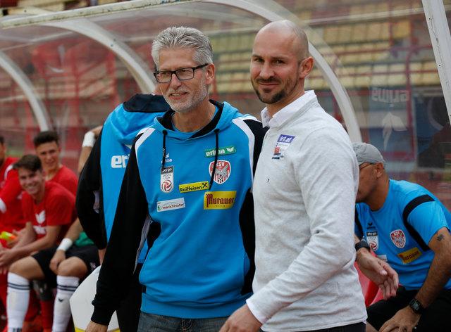 Karl Heinz Kubesch (Kapfenberg) und Christian Ilzer (Hartberg).