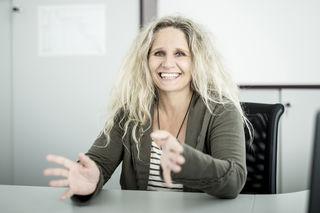 Andrea Höllbacher ist Leiterin der Abteilung Baumangement bei Glorit.