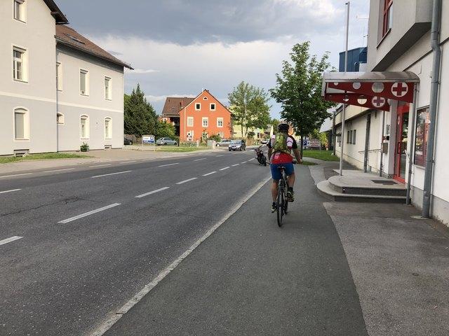 Gefährlich: Gratkorn hat viele Stellen, die für den Radverkehr verbessert werden müssen, um die Sicherheit zu gewährleisten.