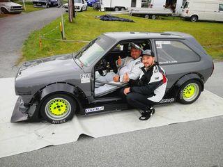 Rene Warmuth und Dominik Neumann sind im Bergrallycup immer für Stockerlplätze gut.