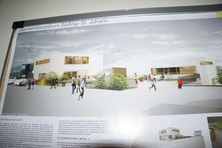 Beim neuen Gemeindeamt von Söding-St. Johann soll der neue multimodale Knoten entstehen.