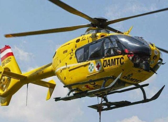 Christophorus 16 flog ins Krankenhaus Oberwart.