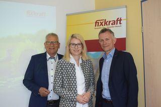 Gottfried Kneifel, Landesrätin Christine Haberlander, Fixkraft-Geschäftsführer Rupert Bauinger
