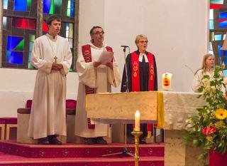 Festgottesdienst der evangelischen und katholischen Kirchengemeinden