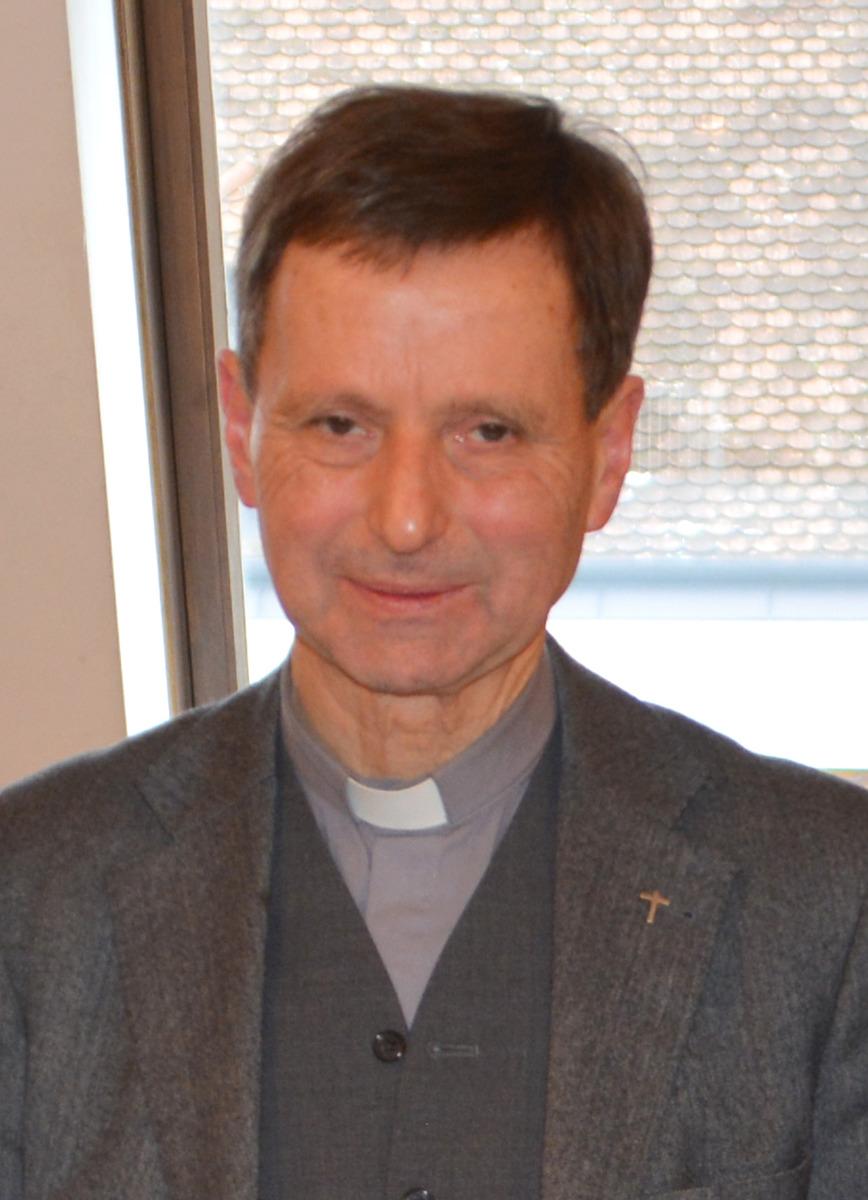 Pfarrer Mathias vertraut auf Gottes Plan.