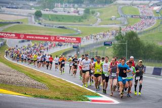 Der achte Businesslauf wird am Red Bull Ring gestartet. Foto: Lucas Pripfl