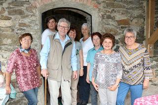 Die Gelegenheit der Burgbesichtigung Krems nutzten viele Besucher.