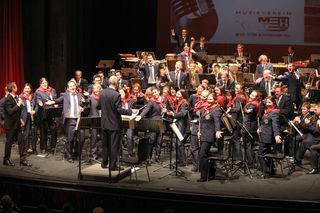 Traditionell eröffnet auch heuer der Musikverein der ÖBB Wels die Burggartenkonzerte.