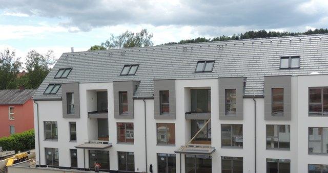 17 geförderte Mietwohnungen mit Stil sind dank Herbert Temmels Wohnbauprojekt in der Weizer Marburger Straße entstanden.