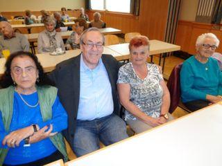 Bgm. Ernst Meixner berichtete dem Pensionistenverein Voitsberg Aktuelles.