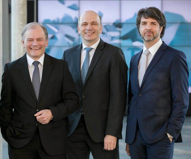 Martin Pfeffer (rechts) ist neu im Vorstand von Binder+Co.