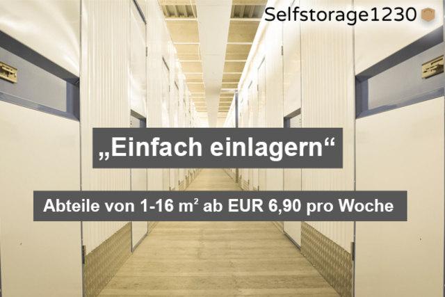 Wenn es zuhause eng wird, dann bietet Selfstorage1230 die günstige Möglichkeit Gegenstände zu lagern.