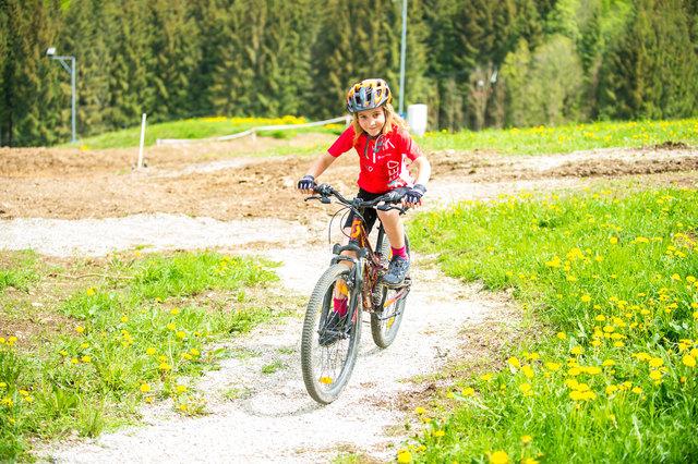 """Das """"Trail Land"""" bietet eigene Strecken für die Kleinen."""