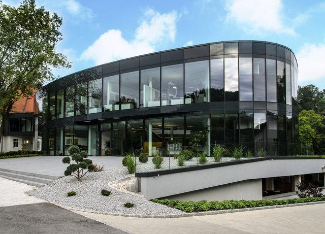 Die Firmenzentrale von Greiner Holding, dem besten Familienunternehmen in Österreich 2018, in Kremsmünster.