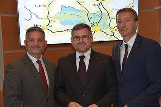 Androsch, Schleritzko und Maier (v.l.).