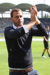 Jürgen Säumel wurde von den Sturm-Fans gebührend verabschiedet.