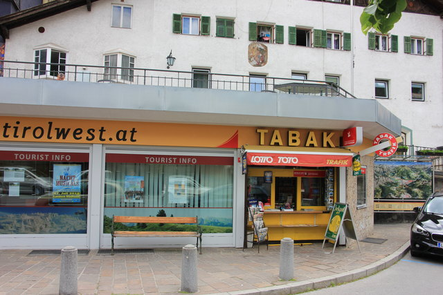 Der Kiosk an der südlichen Stadteinfahrt von Landeck sperrt am 30. Mai zu.