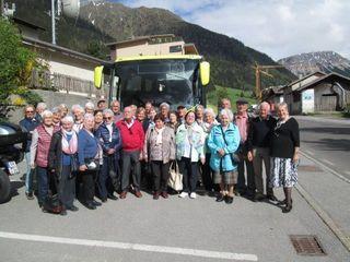 Der Verein der Südtiroler unternahm am 17. Mai einen wunderbaren Ausflug nach Prad im Vinschgau- Südtirol