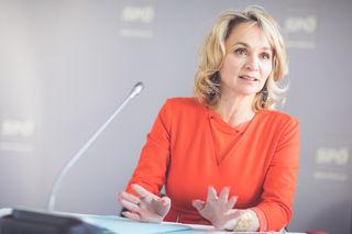 """Elisabeth Blanik von der neuen SPÖ Tirol: """"Diese Regierung will Arbeitnehmerinnen und Arbeitnehmer systematisch benachteiligen."""""""