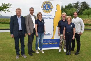 Vertreter des Lions Clubs Thermenland und der 2 Thermen-Region laden zur Lions Golf Trophy ein.
