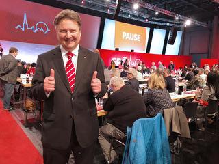 27. Jänner 2018: Der Tag, an dem für Michael Ludwig die Reise Richtung Bürgermeisterstuhl begann.