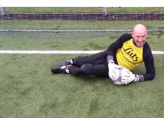 Torwart Franz Kirchmair verhalf seinem Team bereits zum Sieg bei den Lebenshilfe-Landesmeisterschaften.