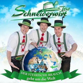 Die neue CD des Schneiderwirt Trios ist ab 25. Mai erhältlich.