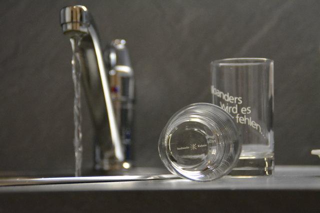 Wassersparen heißt derzeit die Devise in teilen Langkampfens.