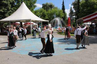 Das Freundschaftsfest am 9. und 10. Juni hat wieder viel Folkoristisches zu bieten.