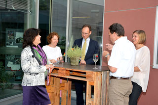Edith Prillinger begrüßte die Ehrengäste
