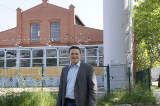 Der historische Ziegelbau wird erhalten und vielfältig genutzt, so Vize-Bezirskvorsteher Wilfried Zankl.