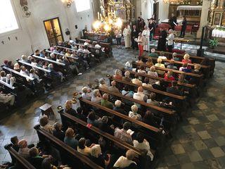 Eröffnung in der Spitalskirche mit Vertretern von katholischer, alt-katholischer, evangelischer und serbisch-orthodoxer Kirche.