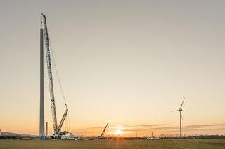 Der Windpark Sommerein ist im Sommer fertiggestellt.